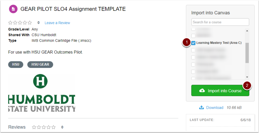 "Canvas Commons ""GEAR PILOT SLO4 Assignment TEMPLATE"" resource"