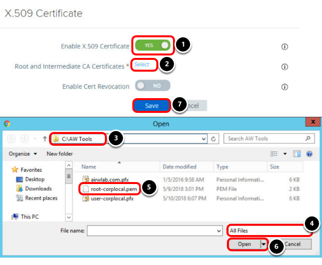 Access the instance configuration