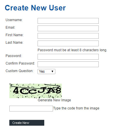 Create A New Sub User