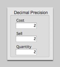 Decimal Precision