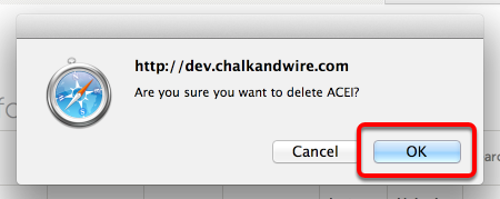 Step 3: Confirm Deletion