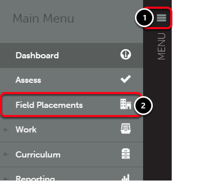 Step 2: Access Field Placements