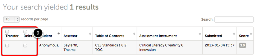 Step 4: Optionally Use Assessment Options