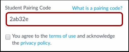 Enter Pairing Code