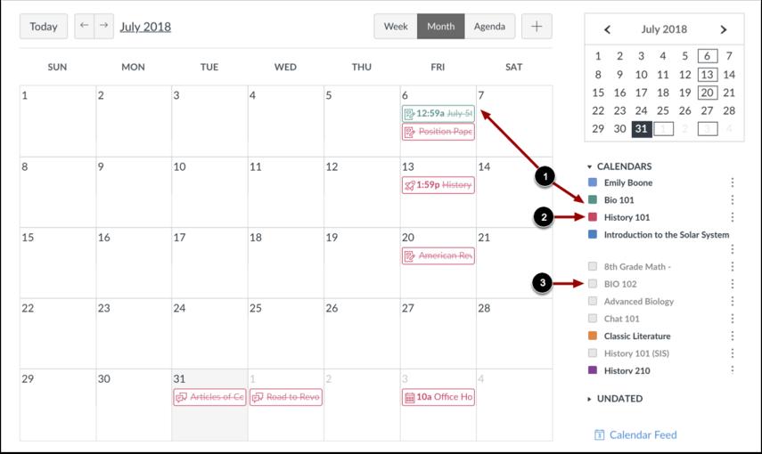Se Kalenderliste