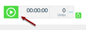 """b. Start the timer by clicking the """"Play"""" icon."""