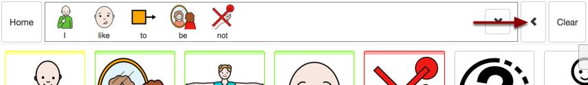 Backspace button