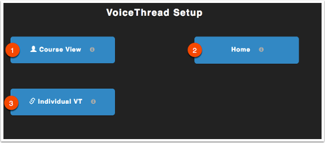 VoiceTHread Set Up