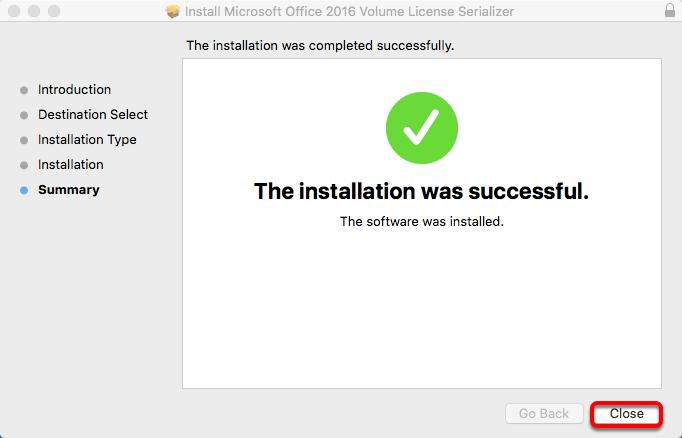 Serialization Successful