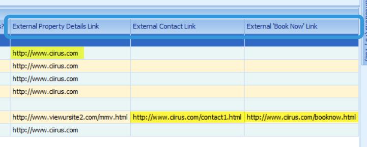 Website External Links