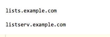 Create a new sub-domain for your domain name.  Something like