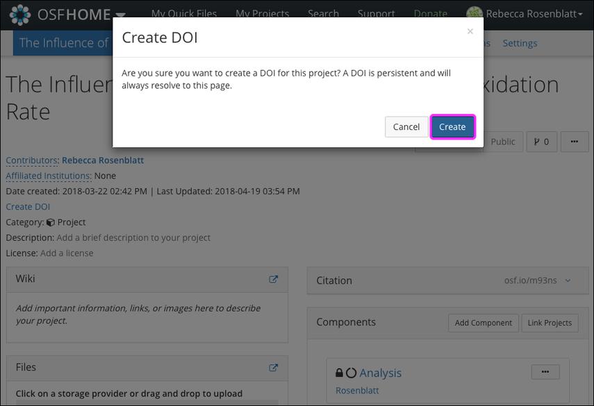 Create Identifiers