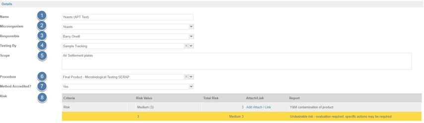 Enter Monitoring Program Details