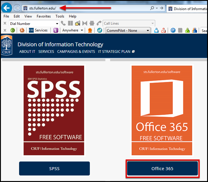 STS software page