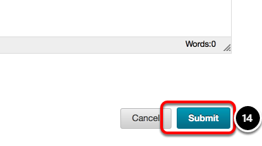Step 5: Submit Changes