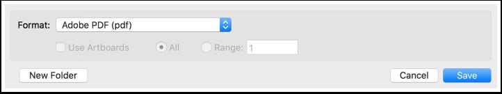 """Screenshot: Save As """"Adobe PDF"""""""