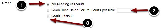 Forum Grading
