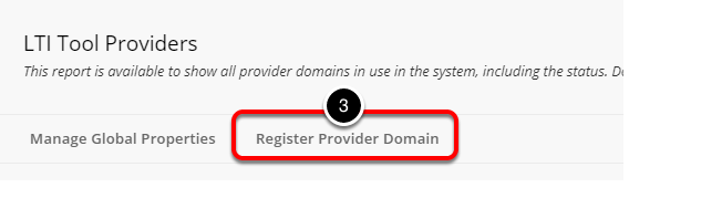 Step 4: Register Provider Domain