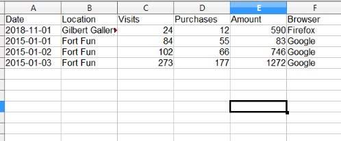 Paste your data in form an excel document.