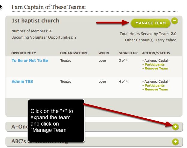 Manage My Team