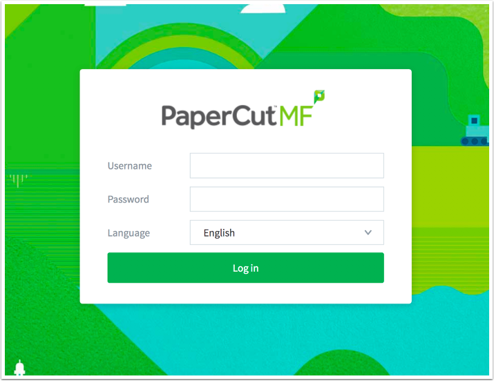 Papercut Login