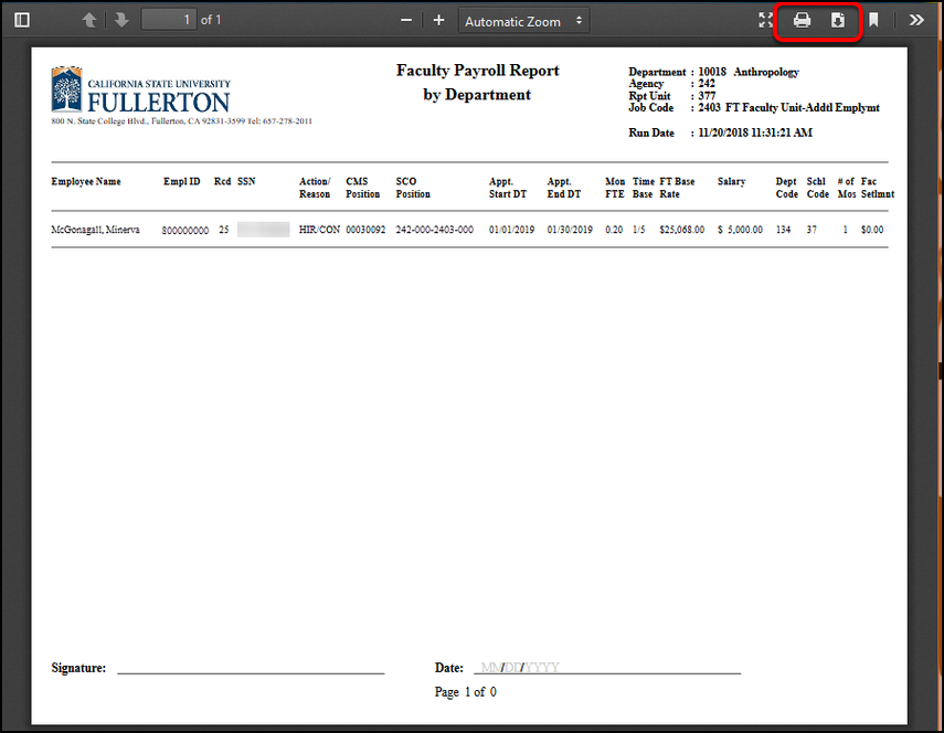 FAE Payroll Report PDF