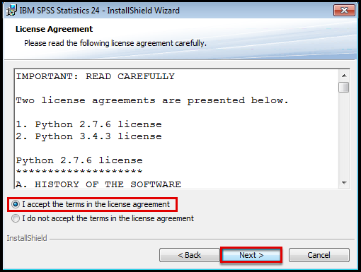 Python license agreement
