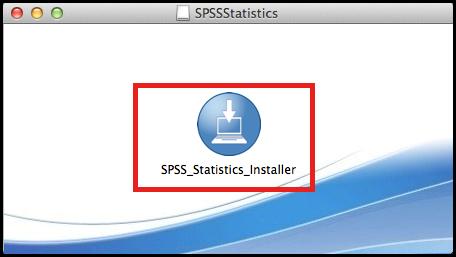 SPSS Statistics Installer file