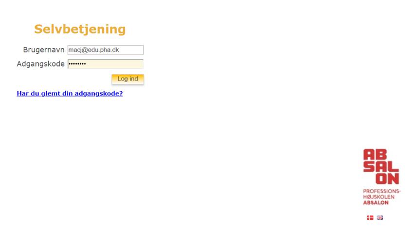 Åbn en webbrowser