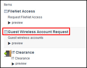 Guest Wireless Account Request Form