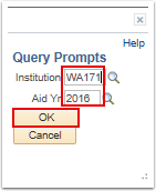 Query Prompts page
