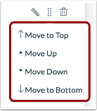 Open Move Menu
