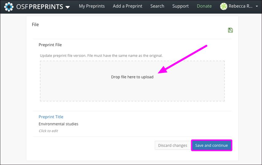 Preprint file box