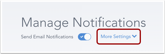 Add Notification Details