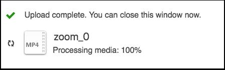Processing Media