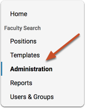 "From your Account Dashboard, click ""Manage"" and select ""Administration"""