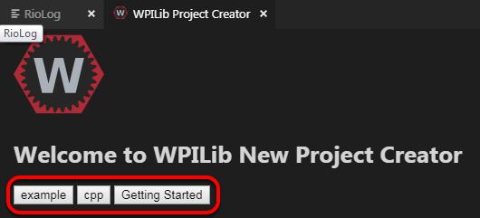 プロジェクトを作成する