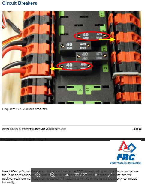 Electrical board preparation