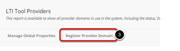 Step 4: Register Provider Domain