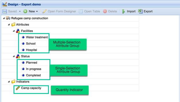 Example form design