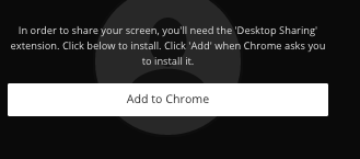 Image of a dialog box asking you to install the desktop sharing app