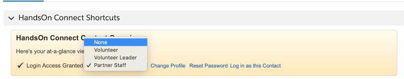 Deactivate their portal access for the organization.
