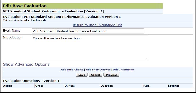 Edit Base Evaluation