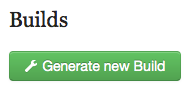 """Once all fields have a """"Complete"""" label, you can click the """"Generate New Build"""" button at the bottom of the screen."""