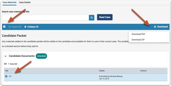 Using the Document Viewer to review packet materials onlineUsing the Document Viewer to review packet materials online