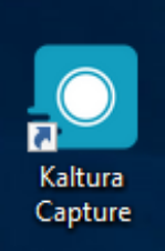 Once it's complete, you'll see the Kaltura CaptureSpace icon on your desktop.