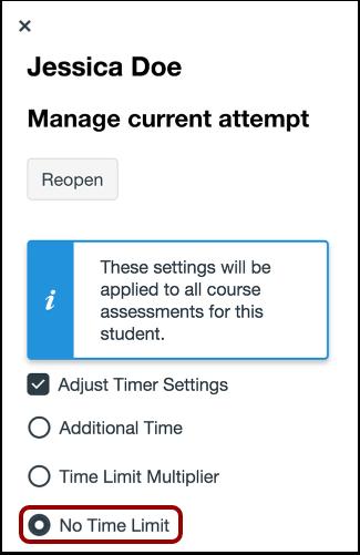 Remove Time Limit