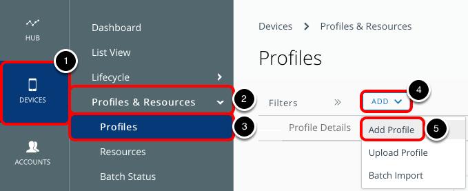 Add a macOS Device Profile
