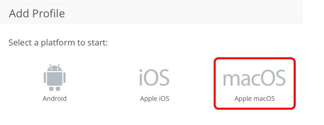 Select Profile Platform
