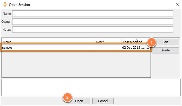 Select sample file